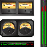 Volume Unit meter Royalty Free Stock Images