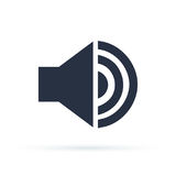 Volume Vector icon. Music Sound Megaphone Icon Flat Vector Illustration. EPS 10 format Stock Photo