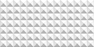 Volume white realistic texture, cubes, gray 3d geometric seamless pattern, design vector light background Royalty Free Stock Images