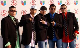 Volumen X at the 6th Annual Latin Grammy Awards. Shrine Auditorium, Los Angeles, CA. 11-03-05 Royalty Free Stock Image