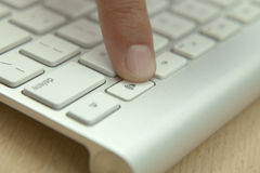 Volumen Button on the Computer Keyboard Stock Images