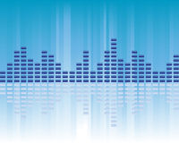 Volumen de la música Imagen de archivo