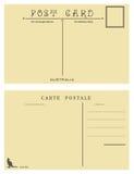 Volumen de ventas de la postal de Australia ilustración del vector