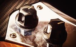 Volumen und Tone Controls stockfotografie