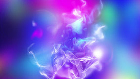 Volumes of abstract smoke, 3d illustration. 3d illustration on the abstract theme of beautiful particles Stock Photo