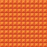 Volumetric texture of orange cubes. (seamless texture Stock Images