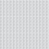 Volumetric texture of white cubes. (seamless pattern Royalty Free Illustration