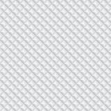 Volumetric texture of white rhombus. (seamless pattern Royalty Free Stock Images