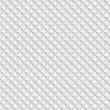 Volumetric texture of white rhombus. (seamless pattern Royalty Free Stock Photography