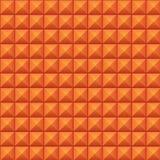 Volumetrische textuur van oranje kubussen Stock Afbeeldingen