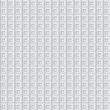 Volumetrische textuur van witte kubussen Stock Afbeelding