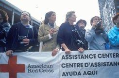 Voluntários americanos da cruz vermelha Foto de Stock