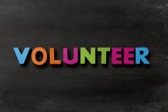 voluntario Fotografía de archivo libre de regalías
