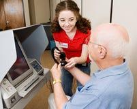 Voluntario provechoso de la elección Imágenes de archivo libres de regalías