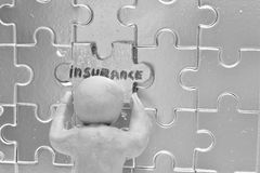 Voluntary insurance.Metaphor. Stock Photos