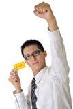Volunteer business man Royalty Free Stock Photo