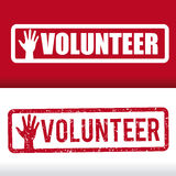 Volunteer design. Volunteer design over white background, vector illustration stock illustration