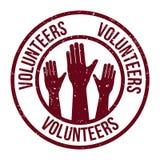 Volunteer design. Volunteer design over white background, vector illustration Stock Images