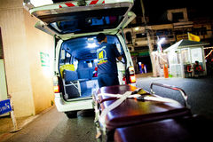 Volunteer EMTs Stock Photography