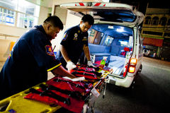 Volunteer EMTs Royalty Free Stock Photo