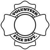 Volunteer Fire Department Illustration. A vector illustration of a Volunteer Fire Department Royalty Free Stock Photo