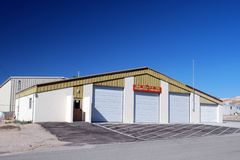 Volunteer Firehouse In Beatty Nevada royalty free stock photos
