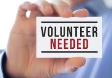 Volunteer needed Royalty Free Stock Image