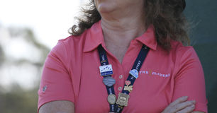 Volunteer at The Players Championship 2012 Stock Photos