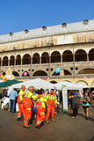 Volunteers Day in Padua, Italy Royalty Free Stock Photography