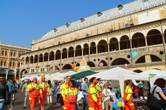 Volunteers Day in Padua, Italy Royalty Free Stock Images