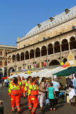 Volunteers Day in Padua, Italy Royalty Free Stock Photo