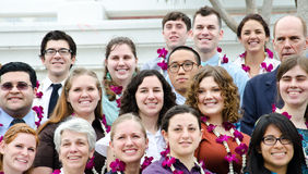 Volunteers of the Peace Corps of the United States Stock Photography