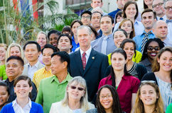 Volunteers of the Peace Corps of the United States. Stock Photography