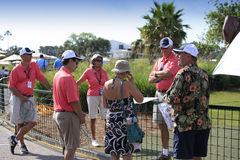 Volunteers at The Players Championship 2012 Royalty Free Stock Image