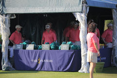 Volunteers at The Players Championship 2012 Royalty Free Stock Photography