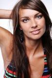 voluptuous kvinna för bikini Royaltyfri Fotografi