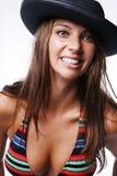 Voluptuous woman in bikini. Attractive young voluptuous woman in bikini Stock Image