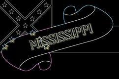 Voluta de Mississippi ilustración del vector