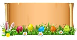 Voluta de Pascua del vector ilustración del vector