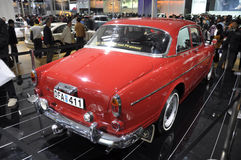 VOLVO 123 GT. Sweden VOLVO 123 GT classic car in its exhibition hall,in 2010 international Auto-show GuangZhou. it is from 20/12/2010 to 27/12/2010. photo taken Royalty Free Stock Images