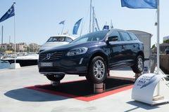 Volvo al salone Nautico a Barcellona Fotografie Stock Libere da Diritti