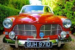 1966 Volvo Amazon. 1966 red volvo amazon motor vehicle Stock Photo