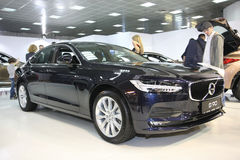 Volvo at Belgrade Car Show Royalty Free Stock Photo