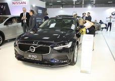 Volvo bij het Car Show van Belgrado Stock Afbeelding