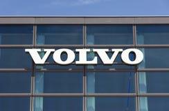 Volvo byggnad i Amsterdam Fotografering för Bildbyråer
