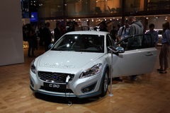 Volvo C30 Electric Car at the IAA Royalty Free Stock Photo