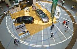 Volvo car show Stock Photos