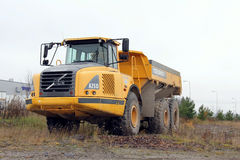 Volvo A25D Articulated Hauler royalty free stock photo