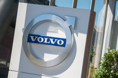 Volvo dealership sign Royalty Free Stock Photography