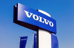 Volvo dealership sign Stock Photos